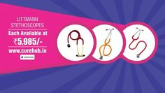 CUREHUB Has Brought Littmann's Infant Stethoscope At Discounted Price. Hurry Up Log On To curehub.in