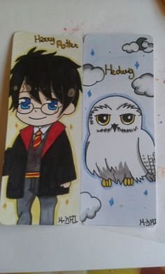 Harry PotterHedwig Marque Page