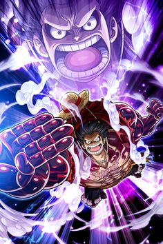 'Luffy Boundman - One Piece' Poster by One-piece-World One Piece Manga, One Piece Figure, One Piece Comic, One Piece Ace, One Piece Drawing, One Piece World, One Piece Luffy, One Piece Gear 4, One Piece Wallpapers