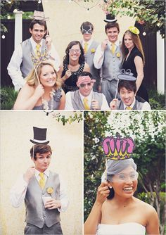 #Wedding at Northeast Wedding Chapel in Hurst, TX www.WaltersWeddingEstates.com #photobooth #photoboothprops