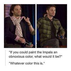 Paint the impala