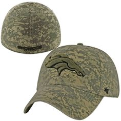 8b83425aab5  47 Brand Denver Broncos Officer Franchise Fitted Hat - Camo