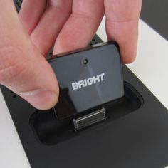 BrightPlay 30 Pin Bluetooth Audio Receiver/ Adapter for iPhones and iPods