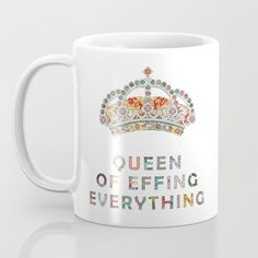Buy her daily motivation Mug by Bianca Green. Worldwide shipping available at Society6.com. Just one of millions of high quality products available.