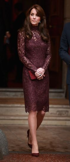 Kate Middleton's Lace Dress Is Just as Dreamy as Her Gowns