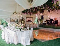 Romantic Garden Wedding by Elizabeth Messina and Lisa Vorce