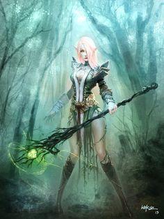 Fantasy - Elf Wallpapers and Backgrounds Elf Characters, Dungeons And Dragons Characters, Fantasy Characters, Fantasy Girl, Fantasy Art Women, Elf Warrior, Woman Warrior, Elfa, Character Portraits