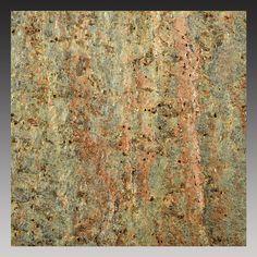 "Peel and Stick Natural Stone Backsplash Tiles 6""x6"" Copper (5 square feet)"