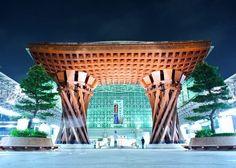 金沢駅はアメリカの大手旅行雑誌「トラベル・レジャー」web版で「世界で最も美しい駅14駅」に日本で唯一選ばれたんだ。 北陸新幹線で金沢に行ったら美しい駅もぜひ観光しよう