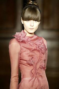 Rodarte texture and detail. I love this.