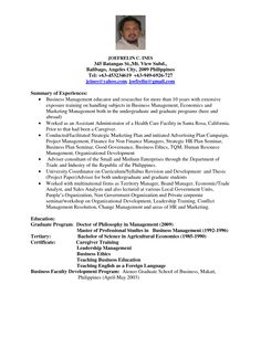 warren j johnson management studies of useful especially cvs and resume sample investment by the
