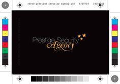 Carte de visite Prestige Secutiry Agency