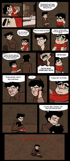 Click for full size. You have to read this. It's probably the saddest Avatar comic interaction between Mako and Bolin in all the Legend of Korra fanarts ever. The feels man, the FEELS.