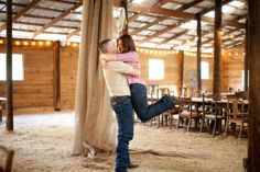 Barn Engagement Pictures