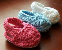 Crochet Patterns - Baby Booties - Moky Croky Sandals - Instant Download