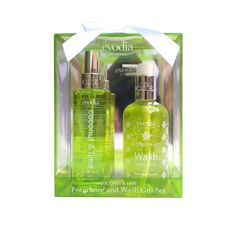 Evodia Coconut and Lime Fragrance and Wash Gift Set