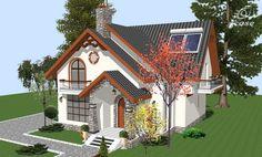 Admiram in cele ce urmeaza trei proiecte de case frumoase, pe un nivel sau doua, care ne capteaza atentia gratie arhitecturii deosebite, pe alocuri cu iz de poveste. Sunt case care cu siguranta vor rupe Beautiful House Plans, Beautiful Homes, Tree Bedroom, Tiny House Exterior, Small Floor Plans, House Construction Plan, Cottage Style Homes, Grand Entrance, Design Case