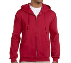 9.5 oz. Super Sweats 50/50 Full-Zip Hood