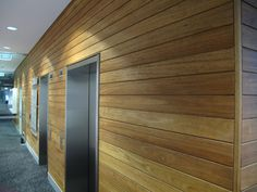 Newport Hardwood Cladding by Urbanline #cladding #sustainable #internalcladding #interiorcladding #wood #timber #hardwood #ceiling #ceilingcladding #interiordesign #inspiration