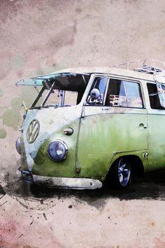 Volkswagen IPhone Wallpaper HD Free Download Background