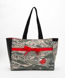 bags, wallets, and other items made from a loved one's military fatigues from militaryapparelcompany.com