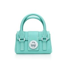 Tiffany & Co. | Item | Manhattan satchel in Tiffany Blue® grain leather, mini. More colors available. | United States