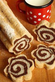 Albanian Recipes, Croatian Recipes, Hungarian Desserts, Hungarian Recipes, Easter Cookie Recipes, Dessert Recipes, Sweet Cookies, Chocolate Desserts, Creative Food