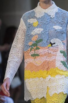 Vivetta at Milan Fashion Week Spring 2019 - Details Runway Photos Fashion Tag, Fashion Details, Diy Fashion, Runway Fashion, Womens Fashion, Fashion Trends, Modern Victorian Dresses, Cheap Fashion Jewelry, Pastel Outfit