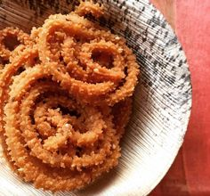 Ever flavoured your Murukku or chakli with pepper? If not try this flavour and store them in airtight to grab them for tea time snack or pack them to snack box. Recipe by Uma. http://www.archanaskitchen.com/pepper-murukku-recipe-south-indian-style-chakli #Vegetarian #Recipes