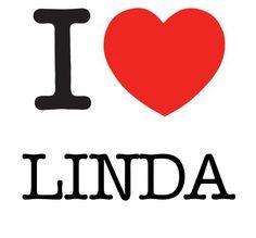 I Heart Linda #love #heart