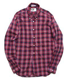 Engineered Garments [2012SS]  19th B.D Shirt - Madras Plaid