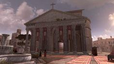 Pantheon overlook