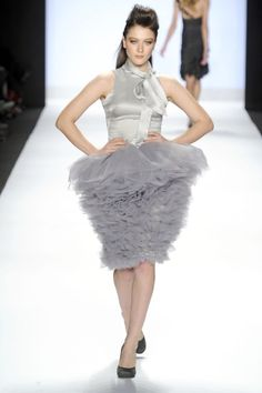 one of my favorite outfits on Project Runway: Carol Hannah.