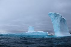 This photo, taken on April 21, 2010, shows giant icebergs near Palmer Station in Antarctica. Located on Anvers Island, Palmer Station is operated by the National Science Foundation's U.S. Antarctic Program.At Palmer Station, scientists can conduct research in a variety of fields, including marine biology, glaciology, geophysics and astrophysics. [Related: The 7 Most Extreme Jobs in Science]