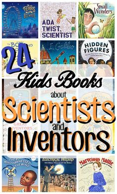 Here are some great ideas for your science unit.  Inspire your little inventors or scientists. This is a great reference list to save as you plan. #homeschool #ideas #books #reading #science. #kids