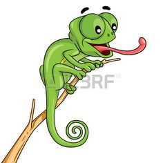 Buy Chameleon Cartoon by rubynurbaidi on GraphicRiver. Illustration of cute cartoon chameleon. Baby Chameleon, Karma Chameleon, Little Lizard, Fantasy Monster, Cute Animal Pictures, Cute Images, Cute Cartoon, Caricature, Tatoo