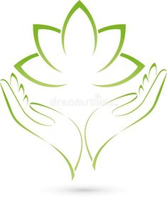 Two hands and leaves, massage and wellness logo. Two hands and leaves, colored, , Logo Design Services, Branding Design, Letra Drop Cap, Logo Mano, Massage Logo, Lotus Logo, Hand Logo, Yoga Art, Health Logo