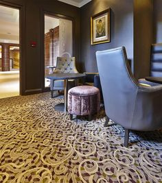 Abbey House Hotel in Cumbria has a palette of bespoke carpets from Wilton Carpets Commercial http://www.hoteldesigns.net/industrynews/news_13348.html