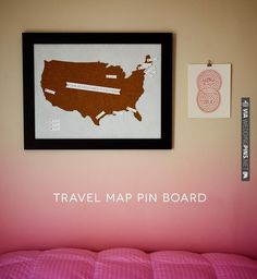 travel map pin board | CHECK OUT MORE IDEAS AT WEDDINGPINS.NET | #weddings #diyweddings #diy