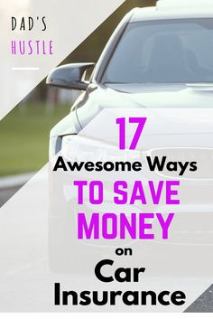 17 Ways To Save On Car Insurance: Loved this list of tips showing how to save on car insurance. Getting cheaper car insurance is one of the easiest things you can do to add $1k-2k to your bottom line every year, and all it takes is just a quick phone call / online quote.