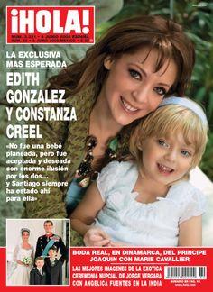 #tbt Hola México No.80 con Edith González y Constanza Creel en portada