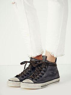 Converse x John Varvatos Jv Mid Top Chucks at Free People Clothing Boutique b236249ce