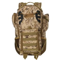 Waterproof Oxford Outdoor Military Molle Tactical Bag Camping Hiking  Backpack  outdoor  sports Mochila Táctica 611d585a67a