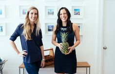 The founders of Minibar talk delivery apps, favorite cocktails, and the perks of working with your best friend.