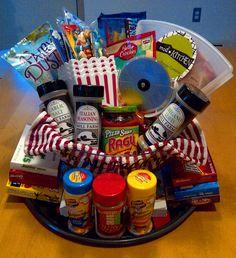 Date night gift basket | Crafty | Pinterest | Gift, Basket ideas ...