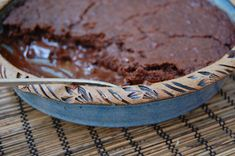 Brownie pudding cake (gluten and dairy free)