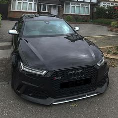 #Audi_RS6 #Modified #Lowered #Slammed