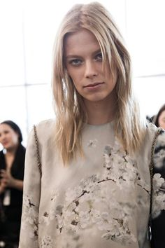 Lexi Boling at Calvin Klein #ss16 #nyfw