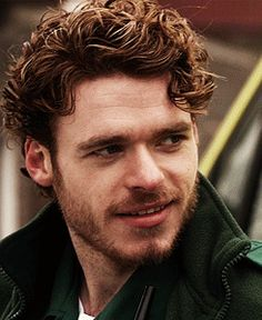 Richard Madden-In honor of the King of the North.  In our real world though, I believe there are only a few global problems that hair couldn't solve; it's glorious