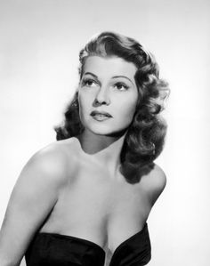 """when a reporter asked rita hayworth, """"what do you think when you look at yourself in the mirror after waking up in the morning?"""" she replied, """"darling, i don't wake up till the afternoon.    What a gal."""